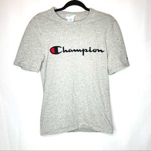 Vintage Champion Spellout Tee Small